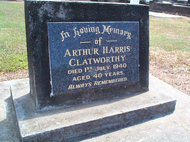 CLATWORTHY Arthur Harris