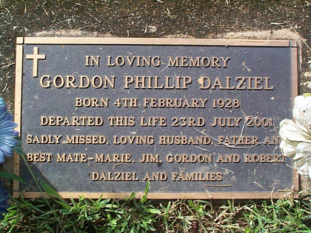 DALZIEL Gordon Phillip
