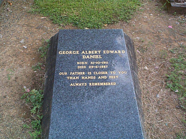 DANIEL George Albert Edward