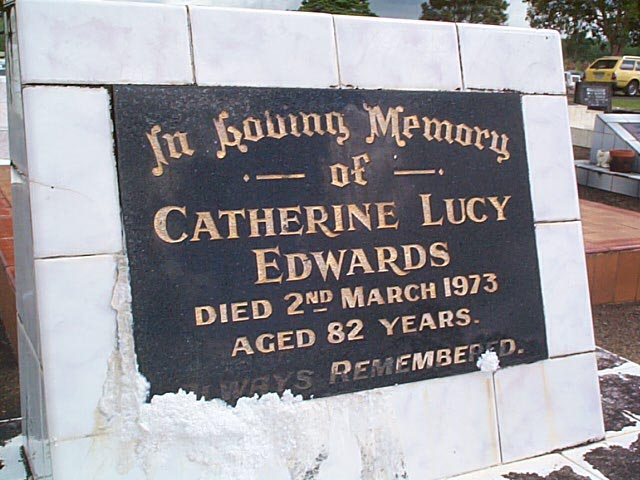 EDWARDS Catherine Lucy