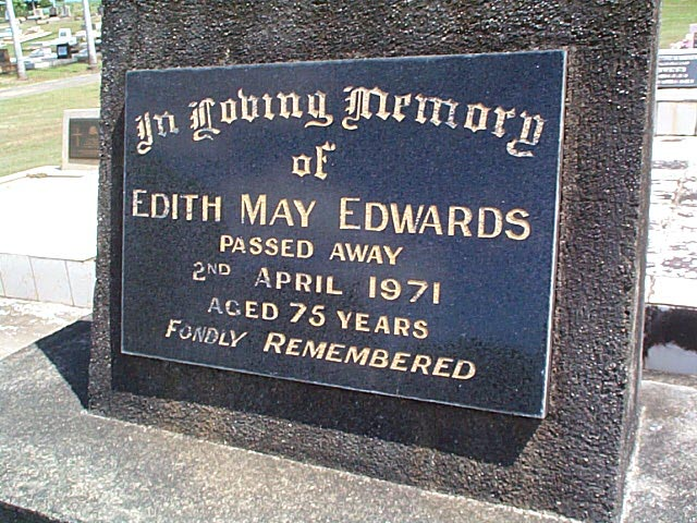 EDWARDS Edith May