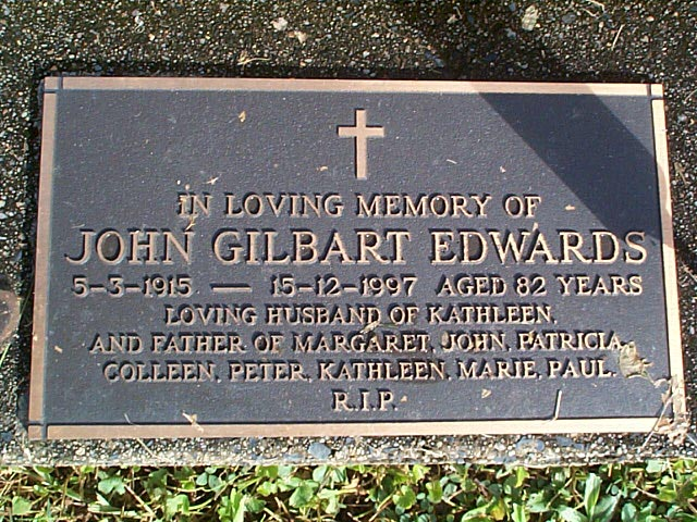 EDWARDS John Gilbart