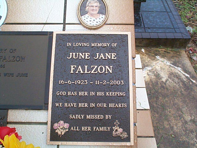 FALZON June Jane