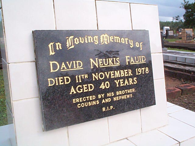 FAUID David Neukis