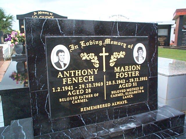 FENECH Anthony & Marion FOSTER