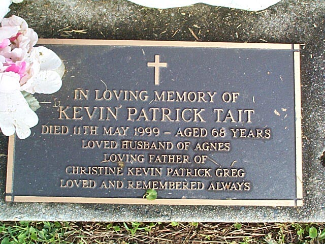 TAIT KEVIN PATRICK