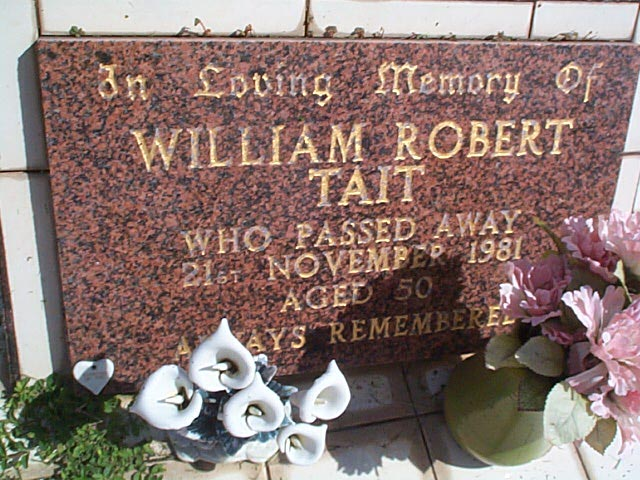 TAIT WILLIAM ROBERT