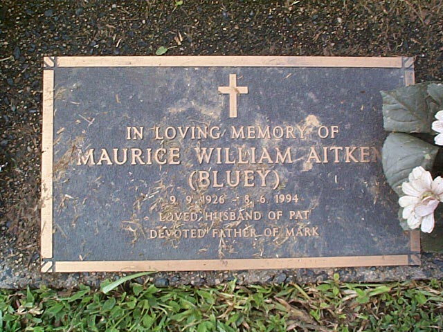AITKIN  Maurice William